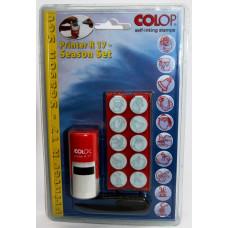 Colop Printer R17-Set Самонаборная печать диам. 17 мм с детской или офисной кассой