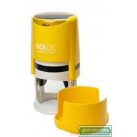 Colop Printer R40 cover Оснастка для печати диам. 40мм с крышкой желтая (curry)