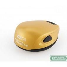 Colop Stamp Mouse R40 Оснастка мышка для печати диам. 40мм золотистая (goldyellow)