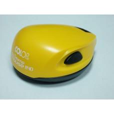Colop Stamp Mouse R40 Оснастка мышка для печати диам. 40мм желтая (curry)