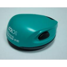 Colop Stamp Mouse R40 Оснастка мышка для печати диам. 40мм бирюзовая (green/blue)