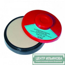 UNI PAD III круглая штемпельная подушка для спиртовых красок d95 мм