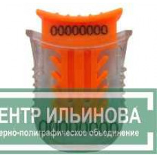 Номерная пластиковая пломба ЗАЩЕЛКА (для проволоки)