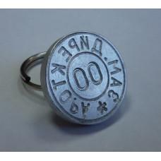 Металлическая печать ручка-кольцо алюминий